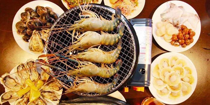 Seafood, Thai BBQ Shrimp, Yuen Long, Hong Kong