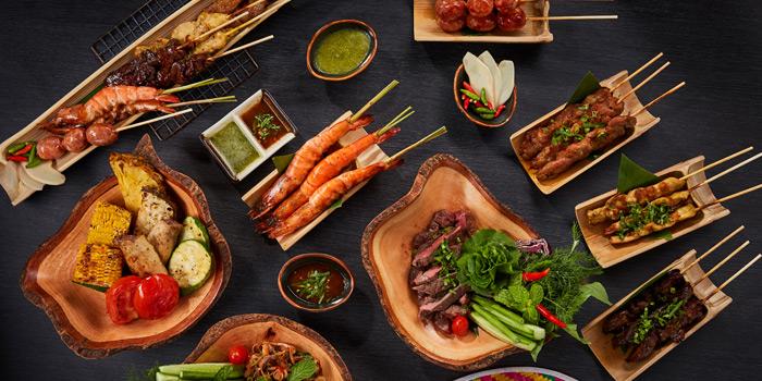 Snack Menu from TEP BAR on Charoen Krung Road, Bangkok