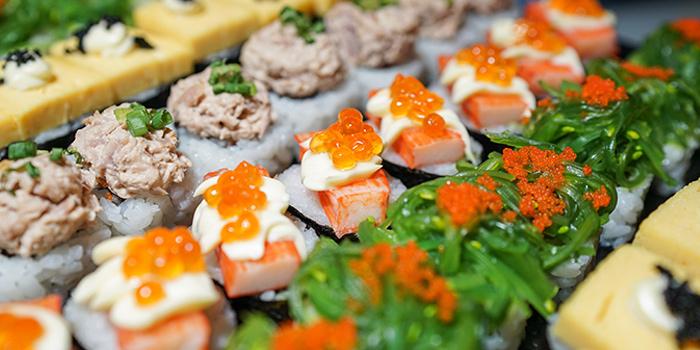 Selection of Sushi from Crave Wine Bar & Restaurant at Aloft Bangkok 35 Sukhumvit Soi 11, Klongtoey-nua Wattana, Bangkok