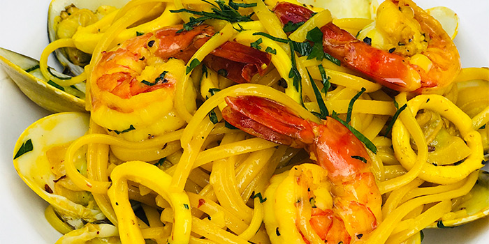 Spaghetti with Shrimp, Staunton