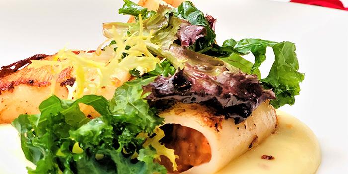 Stuffed Squid from ALBA 1836 Italian Restaurant in Duxton, Singapore