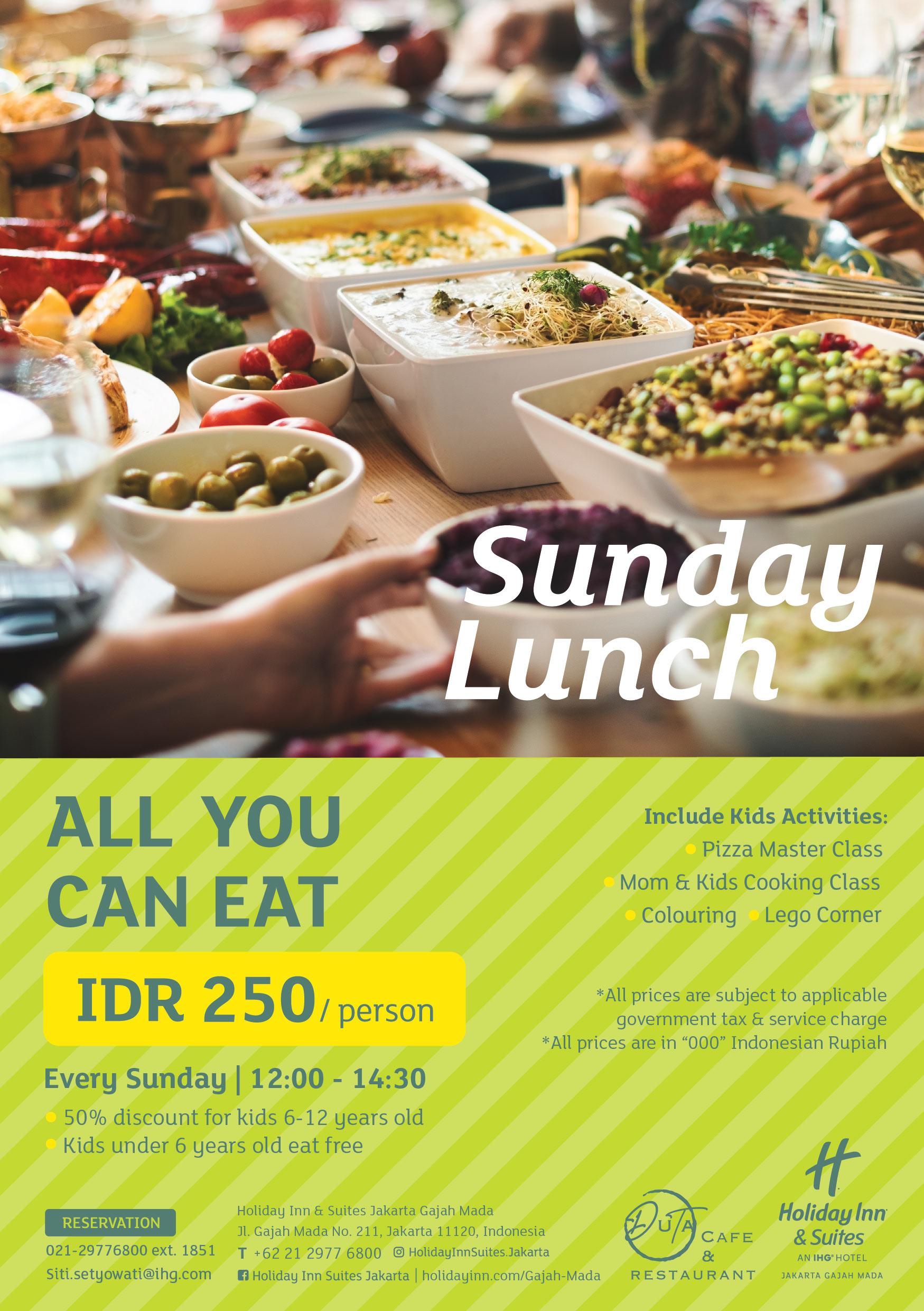 DUTA CAFÉ AT HOLIDAY INN & SUITES JAKARTA GAJAH MADA | CHOPE