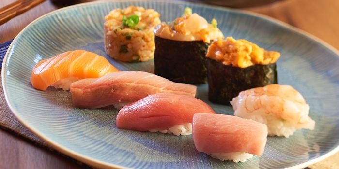 Sushi Combination, Tokio Joe, Lan Kwai Fong, Hong Kong