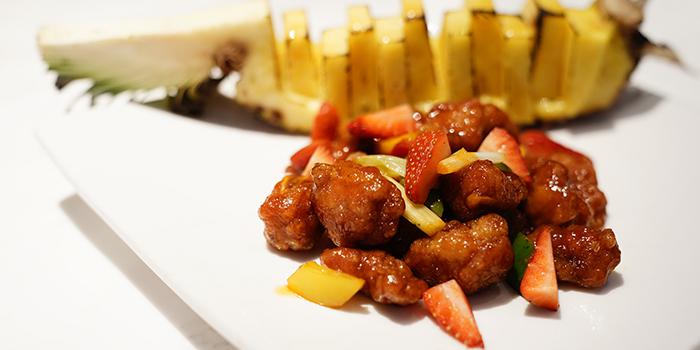 Sweet & Sour Pork with Fresh Pineapple, SHÈ, Central, Hong Kong