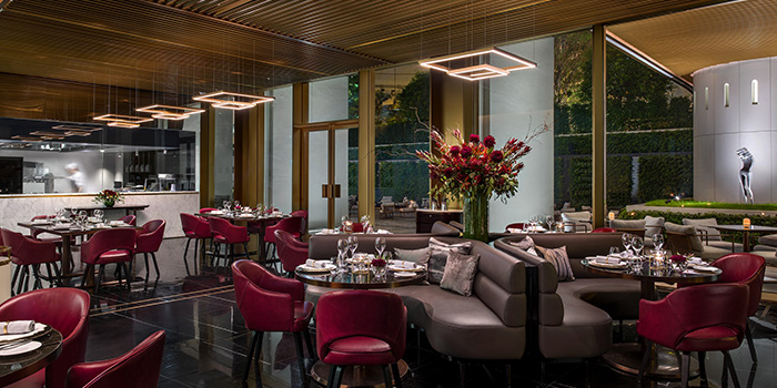 Dining Area, The Tai Pan, Central, Hong Kong