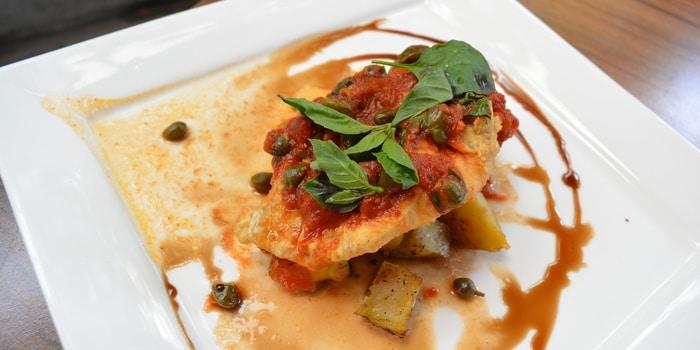 Dish 1 at Expatriate Italian Restaurant, Wine & Coffee