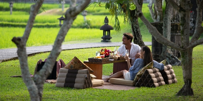 Picnic Lunch at The Restaurant, Chedi Club Ubud