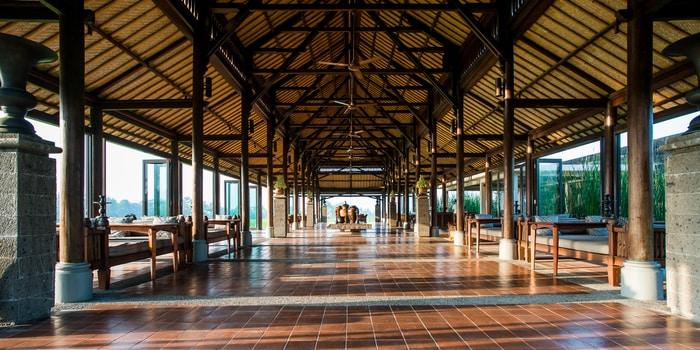 Interior 3 at The Restaurant, Chedi Club Ubud