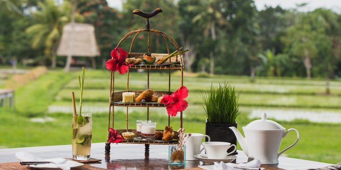 Afternoon Tea at The Restaurant, Chedi Club Ubud