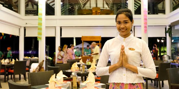 Welcome of  Seedings Phuket in Bangtao, Phuket, Thailand.