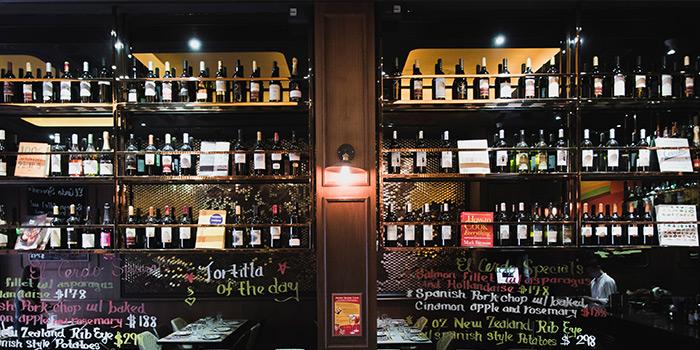 Wine Cellar, El Cerdo, Wan Chai, Hong Kong