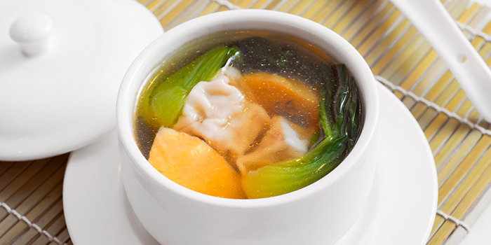 Wontons in Chicken Soup, Bloom By Wang Jia Sha, Causeway Bay, Hong Kong