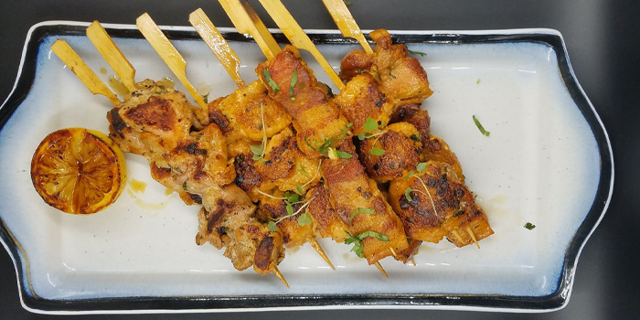 Chicken Skewers, Stuffed Kitchen@mazu, Lan Kwai Fong, Hong Kong