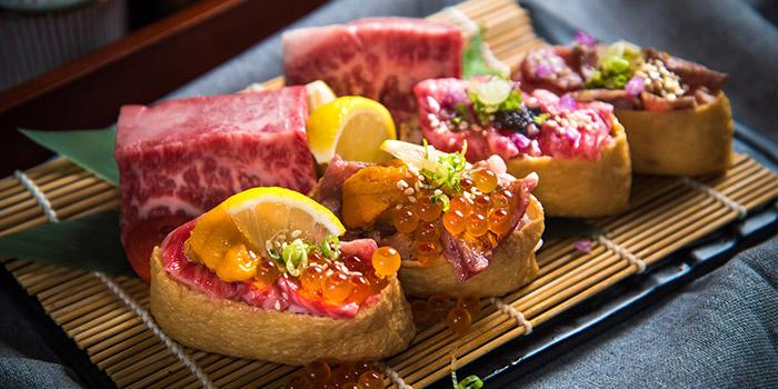 Beef, Jan Jan Kushikatsu, Tsim Sha Tsui, Hong Kong