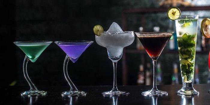 Cocktails from Sambal Shrimp, Seminyak, Bali