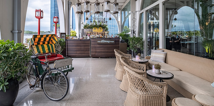 Al Fresco with Gin Parlour from The Clifford Pier in Fullerton Bay Hotel, Singapore