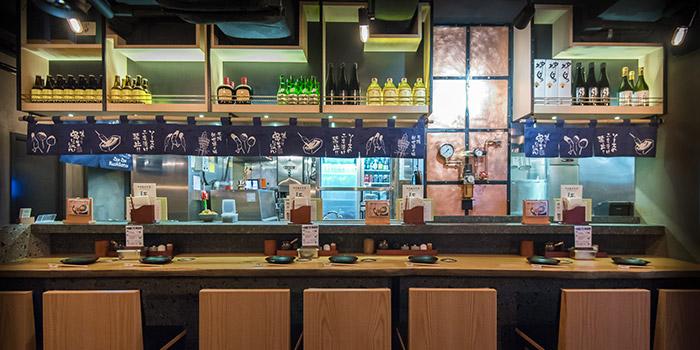Bar Area, Jan Jan Kushikatsu, Tsim Sha Tsui, Hong Kong