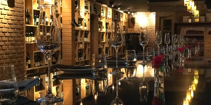 The Dining Table from MAKI BAR - Firewood Grill Bangkok at 36/1, 2nd Floor, Soi Prompak Klongton Nuea, Wattana Bangkok