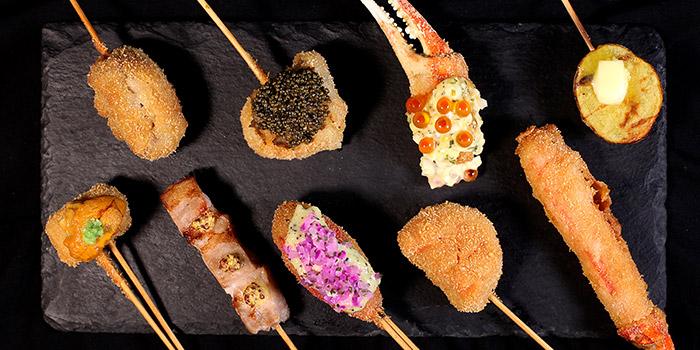 Fried Variety, Jan Jan Kushikatsu, Tsim Sha Tsui, Hong Kong