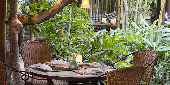 Interior from Kori Restaurant, Legian, Bali