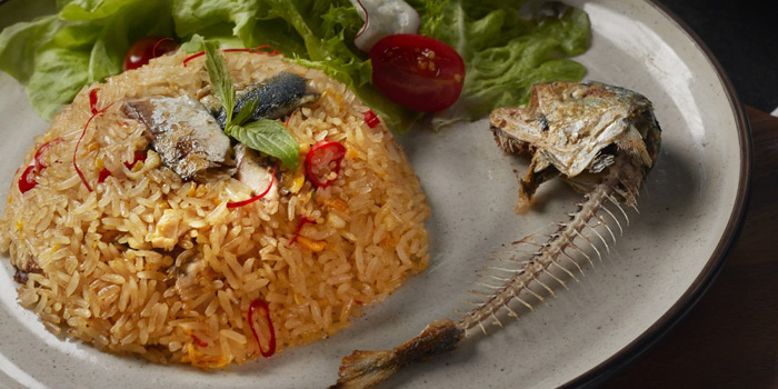 Khao Pad Namprik Platoo from Babylon Steakhouse - Asoke at 1624 New Petchaburi Rd Makkasan, Ratchathewi Bangkok