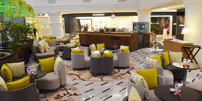 Interior 2 at La Moda Restaurant, Plaza Indonesia
