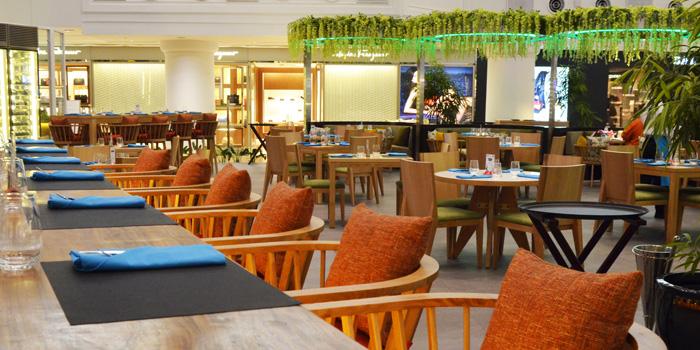 Interior 1 at La Moda Restaurant, Plaza Indonesia