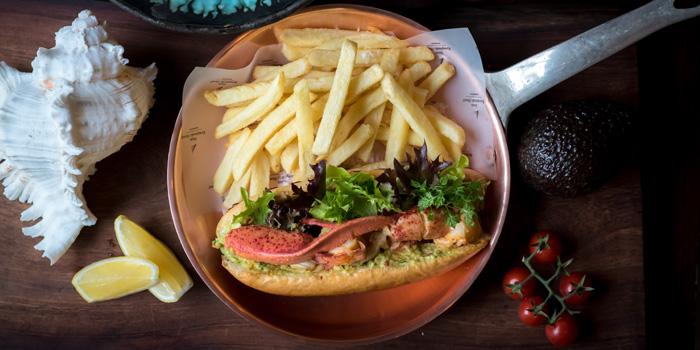 Lobster Roll from Niche at Siam Kempinski Hotel, Bangkok
