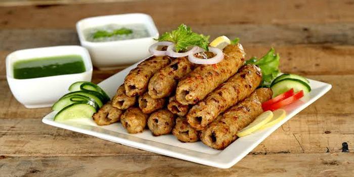 Mutton Sheekh Kebab from Tandoor at 155/8-9 Sukhumvit Soi 11/1 Bangkok