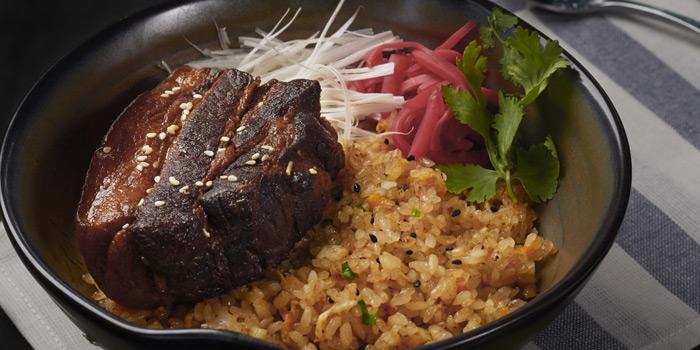 Roasted Pork Belly with Rice from Babylon Steakhouse - Asoke at 1624 New Petchaburi Rd Makkasan, Ratchathewi Bangkok