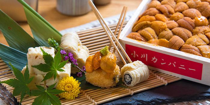 Sea Urchin, Jan Jan Kushikatsu, Tsim Sha Tsui, Hong Kong