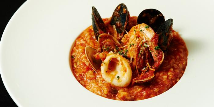 Seafood Risotto from MAKI BAR - Firewood Grill Bangkok at 36/1, 2nd Floor, Soi Prompak Klongton Nuea, Wattana Bangkok