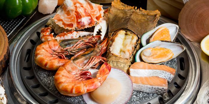 Seafood Set from Ebi Sensei at Siam Square soi 10 Rama I Rd, Pathum Wan Bangkok