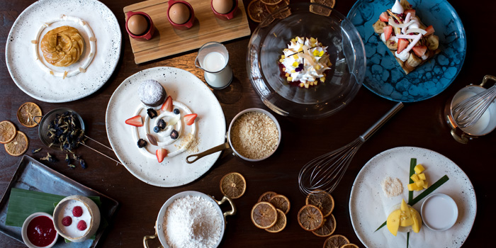 Signature Desserts from Niche at Siam Kempinski Hotel, Bangkok