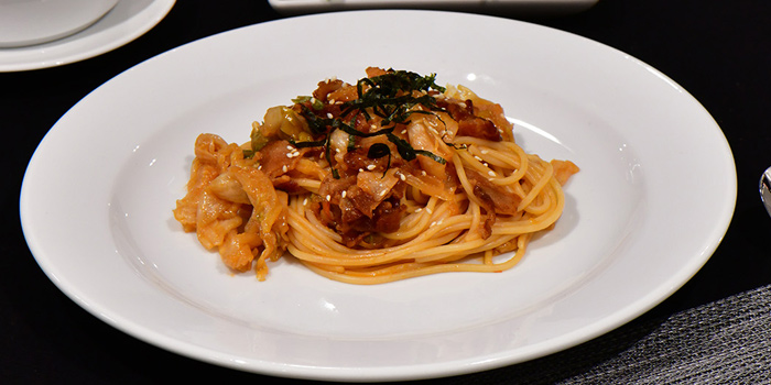 Spaghetti Bacon from S-SEN Brasserie & More at 2nd Floor Hotel Verve Bangkok 22/1 Sukhumvit 55, (Soi Thonglor) Klongton Nua, Watthana Bangkok