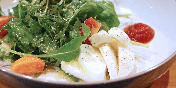 Tomato Mozzarella Salad from Nikkuu Grill at 47 Soi Sukhumvit 55, Thonglor Road Khlong Toei Nuea, Wattana Bangkok