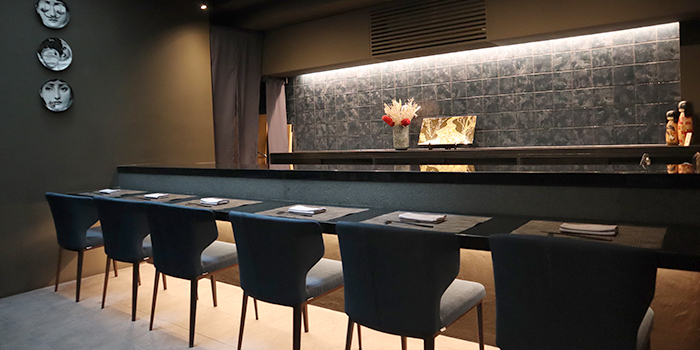 Counter Seats at RIZU Modern Japanese Cuisine in Duxton, Singapore