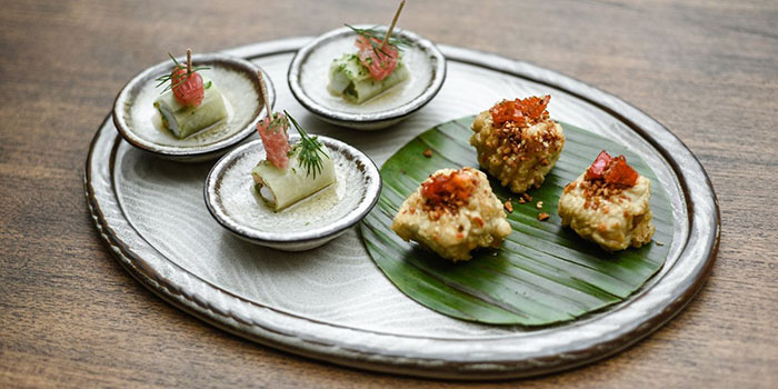 Food from The Mill Dewata, Seminyak, Bali