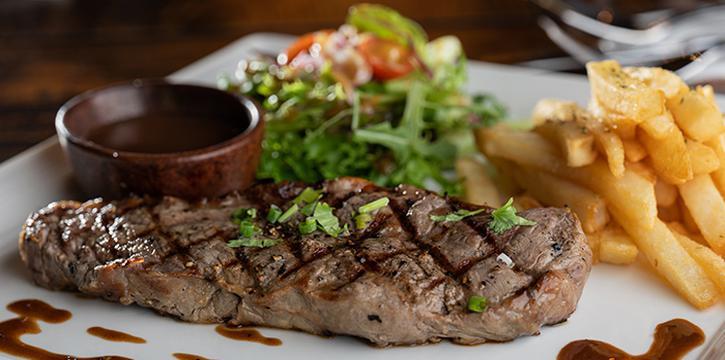 Grilled Sirloin Steak from Taliwang Restaurant in Bugis, Singapore