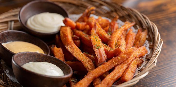 Sweet Potato Fries from Taliwang Restaurant in Bugis, Singapore