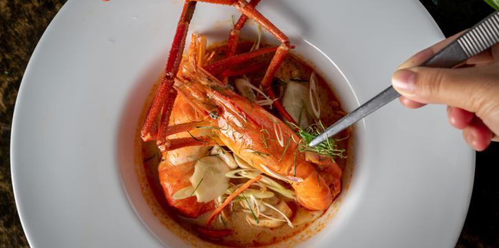 Tom Yum Goong from Silk Restaurant and Bar in Kamala, Kathu, Phuket, Thailand