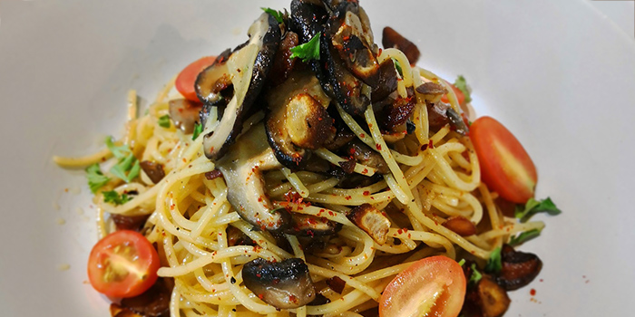 Aglio Mushroom from Whale Lala Cafe at The Commerze@Irving in Tai Seng, Singapore