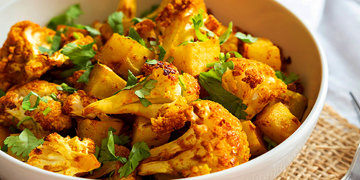 Aloo Gobi from Indian Curry House (Siglap) in East Coast, Singapore