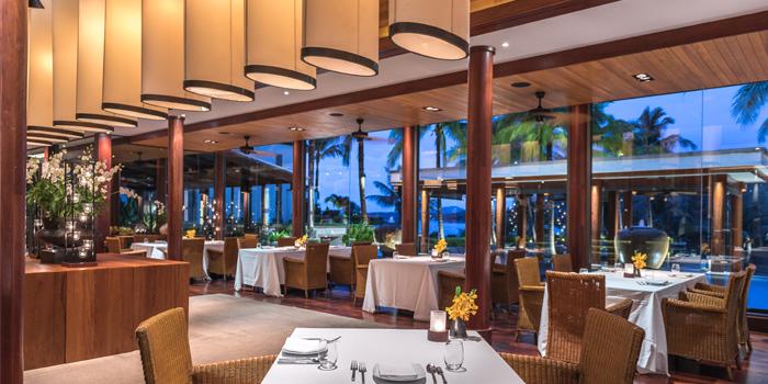 Dining Area of Silk Restaurant and Bar in Kamala, Kathu, Phuket, Thailand
