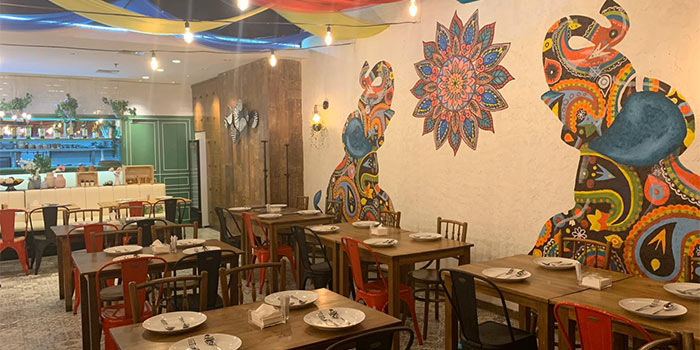 Ambience 1 at Little India Restaurant (Citywalk Sudirman)