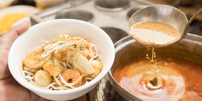 Laksa from Asian Market Cafe at Fairmont Singapore in City Hall, Singapore