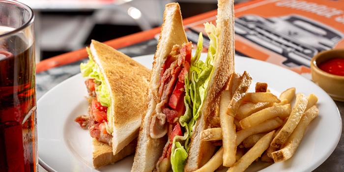 Set BLT from V8 Diner at 32/2 Sukhumvit Soi 11 Insanity Building Khlong Toei Nuea, Khlong Toei Bangkok