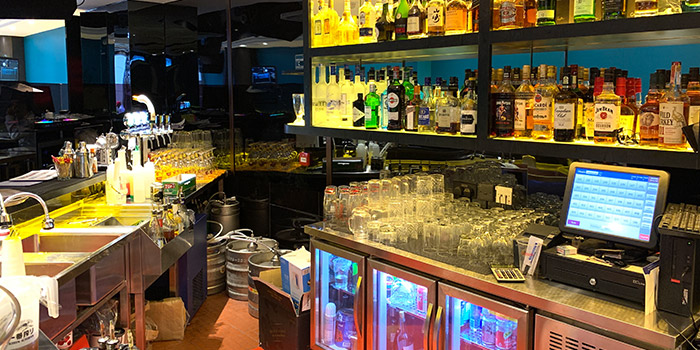 Bar Area, Carat Fine Indian Cuisine, Lan Kwai Fong, Hong Kong