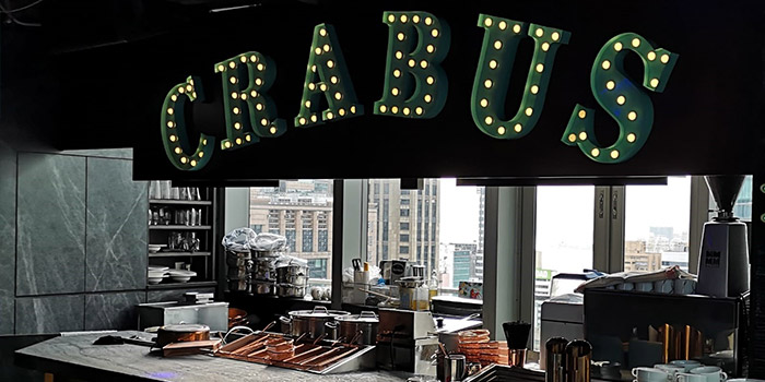 Bar Area, Crabus Restaurant & Bar, Causeway Bay, Hong Kong