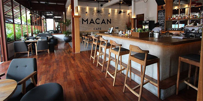 Interior from Macan Cafe, Canggu, Bali